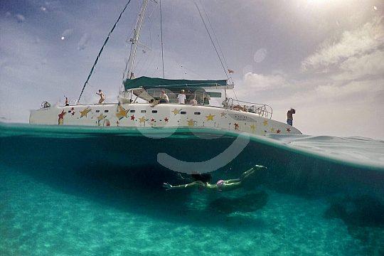 Catamaran trip Costa Brava