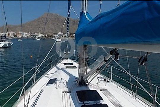 Sailing from Porto Cristo on the east coast Mallorca