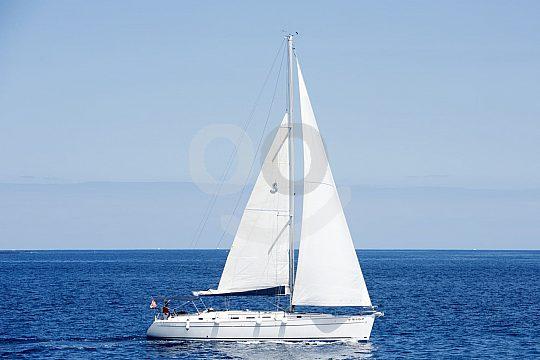 Segelboot mit Skipper auf Teneriffa