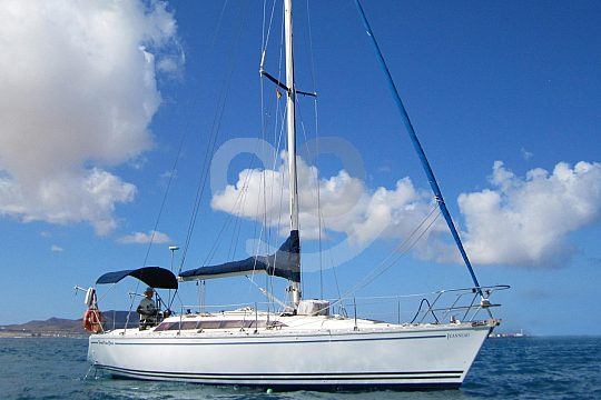 Sailboat hourly charter with skipper on Lanzarote