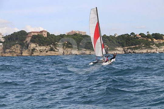 explore Mallorca by sailing catamaran