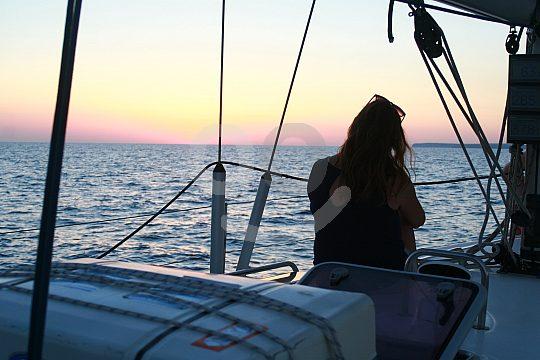 Sailing in East Majorca