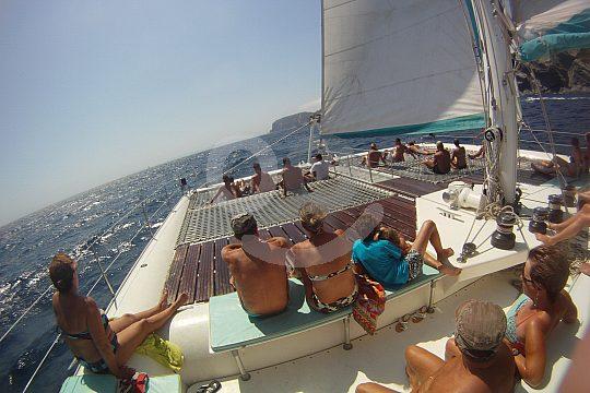 Catamaran trip from Roses
