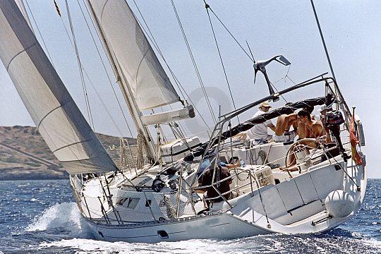 sailing yacht backside