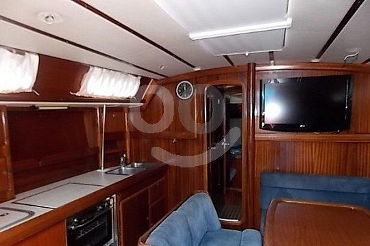Sailboat interior design