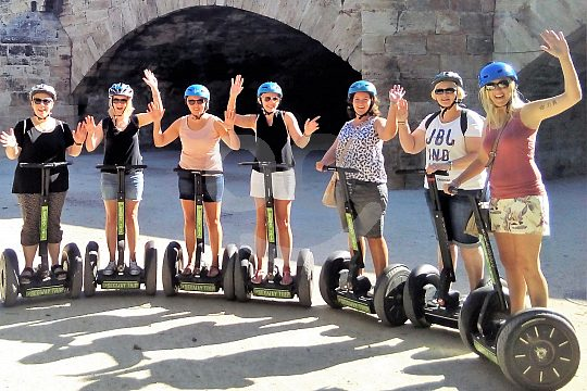 Group in Segway in Valencia