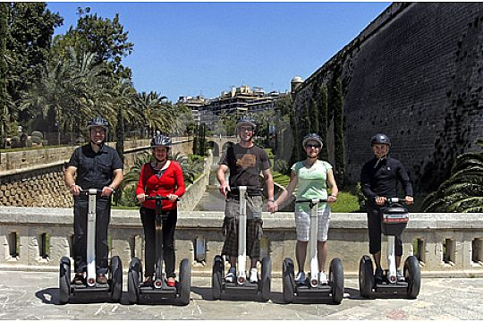 Ride a Segway in Palma de Mallorca