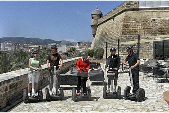 Palma Segway city tour