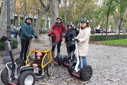 in Madrid on Segway tour