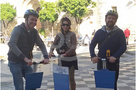 by Segway in Jerez de la Frontera