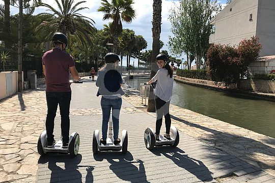 Segway on holiday in Mallorca
