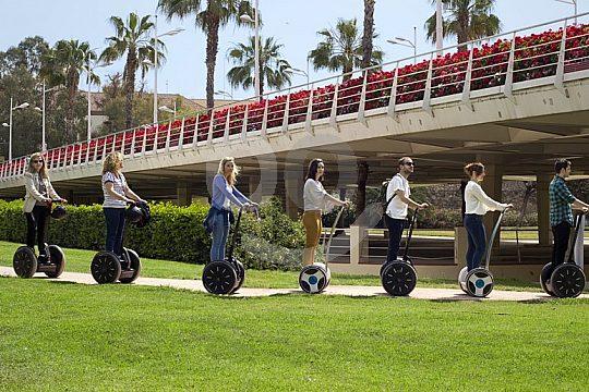Segway tour in Valencia to Turia gardens