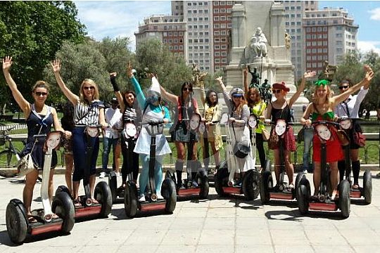 hen party in Madrid