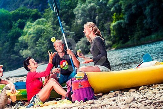canoe Sella descent in Asturias