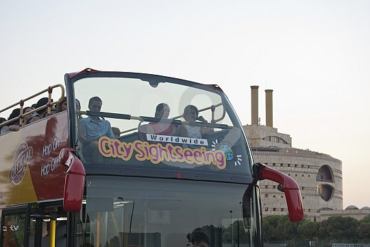 City Sightseeing Bus in Seville