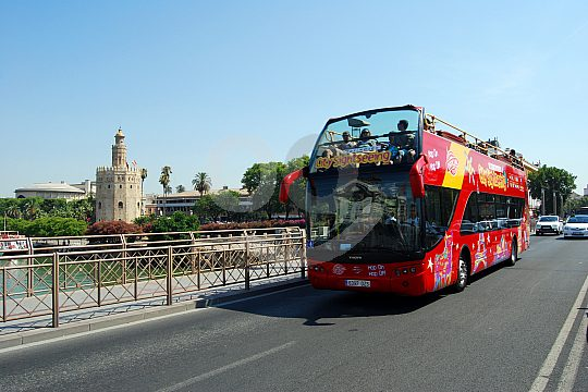 Hop on Hop off in Seville
