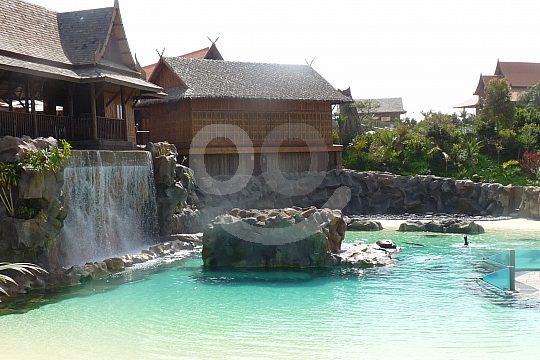 waterfall Siam Park Tenerife