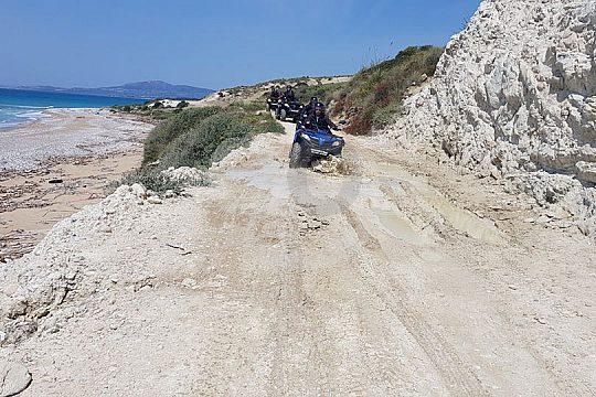 geführte Quadbike-Tour ab Ribera