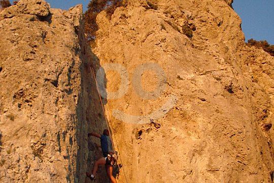 Sierra de Alfaguara climbing in Andalusia