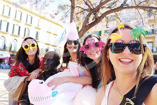 Gruppenerlebnis in Malagas Altstadt