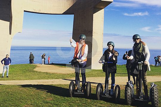 guided Gijón Segway tour