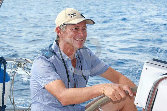 Skipper on board Mallorca
