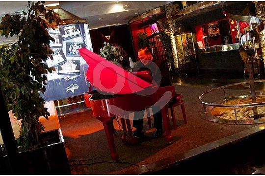 Pianist at Son Amar