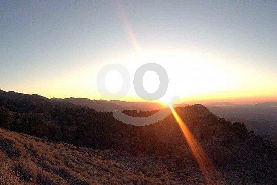 Sunset at Chania on Crete