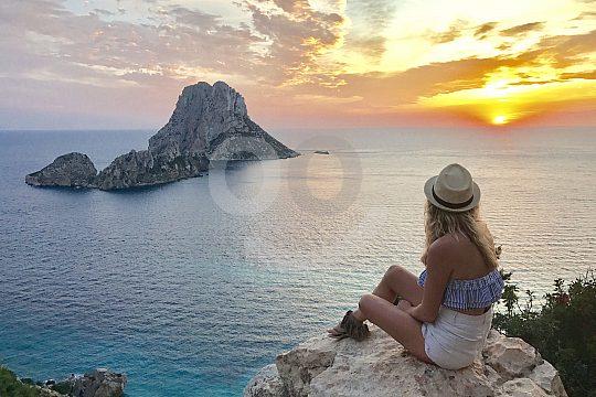 Jeep safari to the sunset in Ibiza