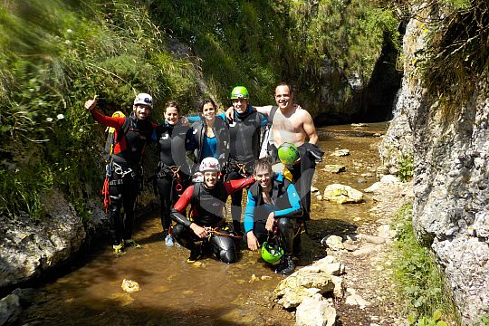Basque Country Canyoning group