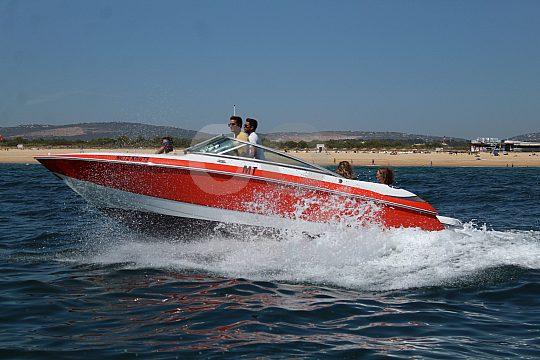 Speedboat hire Algarve