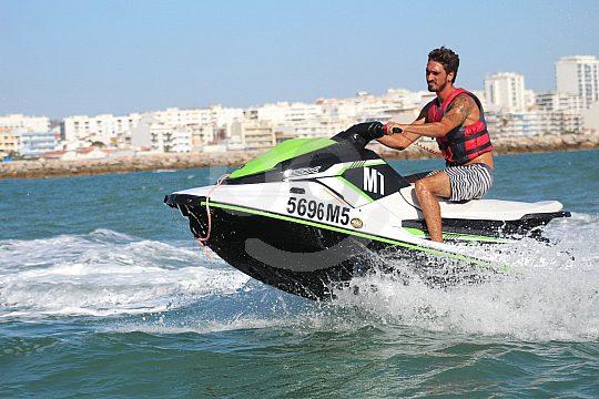 Freizeitspaß auf dem Jetski Algarve