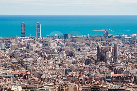 Panorama of Barcelona