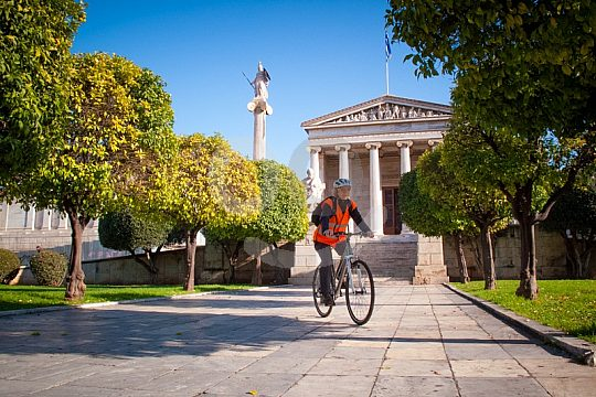 Athens city tour by bike