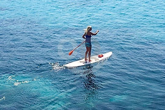 SUP Tour Mallorca Camp de Mar for advanced paddlers