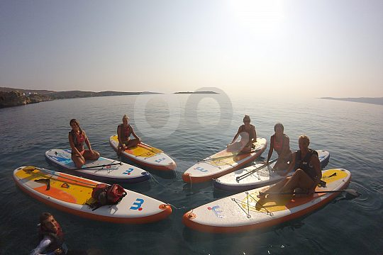 SUP in Crete with snorkelling
