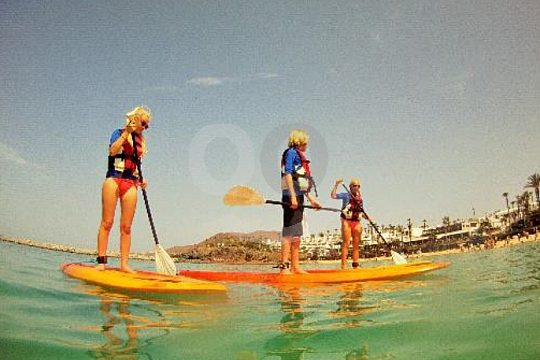 Stand Up Paddle SUP excursion Lanzarote