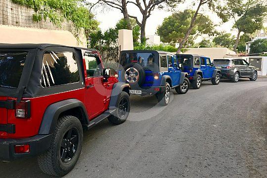 Jeep Fleet on Ibiza