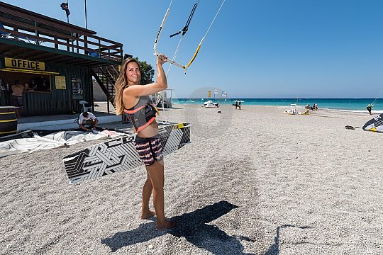 The first steps with the stunt kite