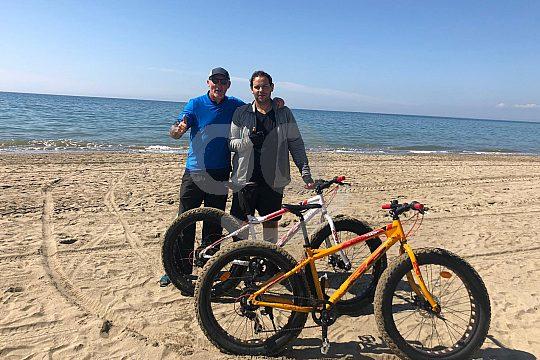 Strandräder mit robusten Reifen