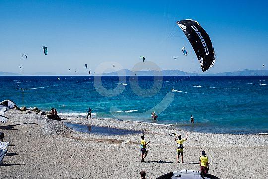 Kiterspot on Rhodes
