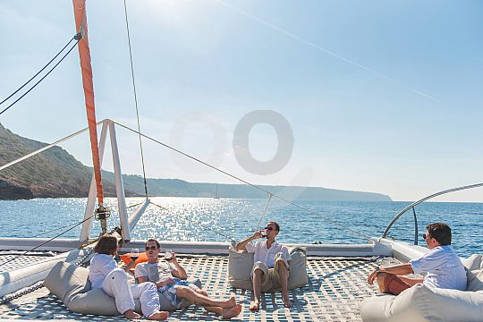 Sunset Catamaran Tour in Majorca