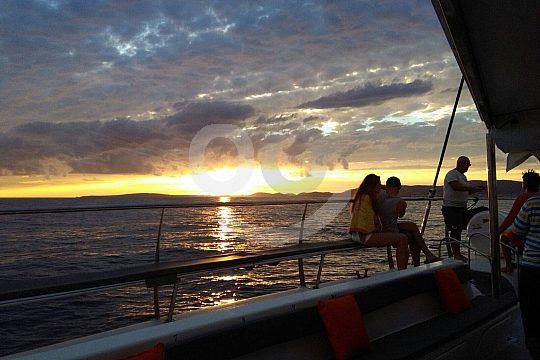 Mallorca Catamaran Tour during sunset