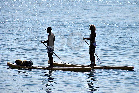Teneriffa Stand-Up-Paddle Kurs