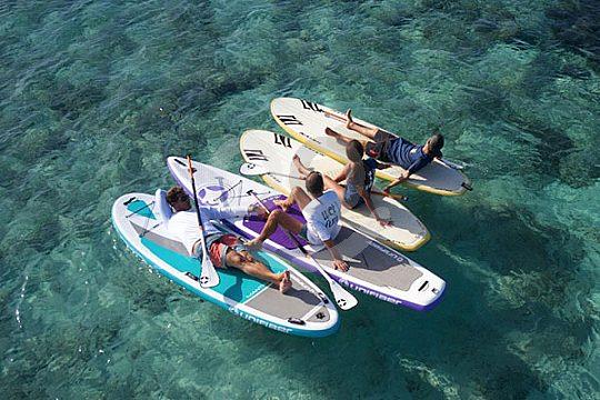 Relaxen auf dem SUP Formentera