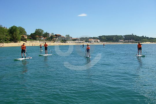 stand up paddle surf class Santander