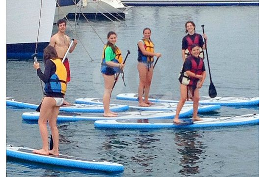 class of Stand Up Paddling