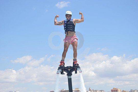 Flyboarding is fun
