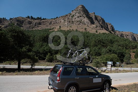 support vehicle day trip North Peloponnese