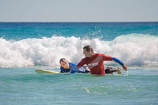 Surfen lernen Fuerteventura